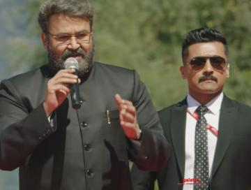 Suriya Kaappaan new deleted scene Kashmir Mohanlal speech scene - Tamil Movie Cinema News