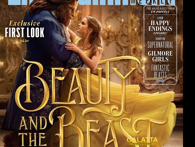 Emma Watson's look unveiled for Beauty and the Beast!
