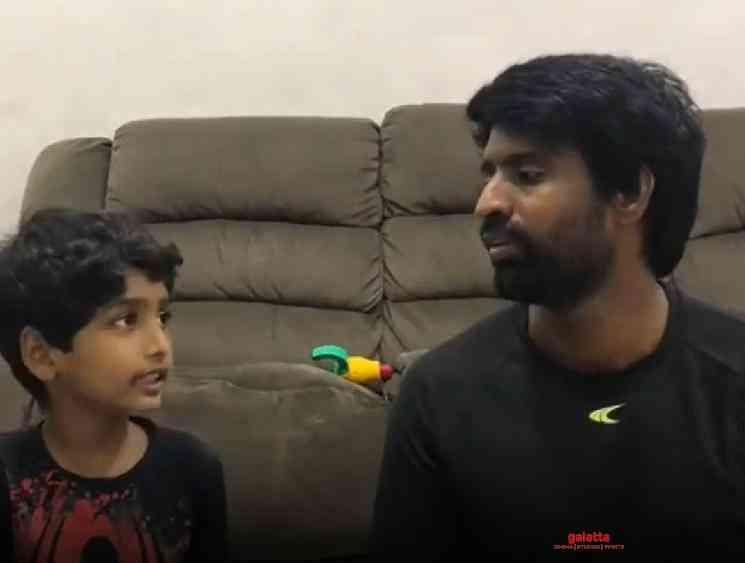 Soori shares new video in quarantine asks parents to teach kids - Tamil Movie Cinema News