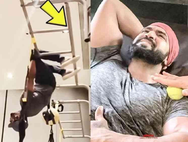 Arun Vijay shares throwback video getting injured during workout - Tamil Movie Cinema News