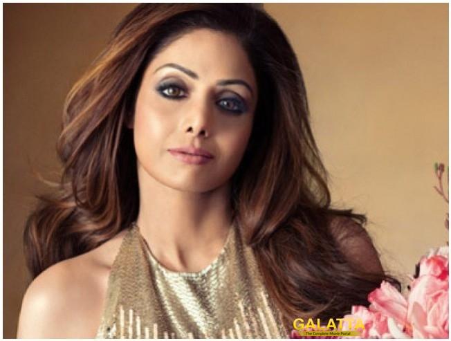 Sridevi In A Cameo In Zero Opposite Shah Rukh Khan Anushka Sharna Katrina Kaif