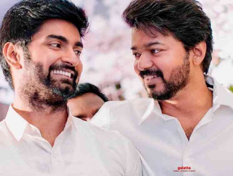 Atharvaa posts picture with Thalapathy Vijay new photo goes viral - Tamil Movie Cinema News