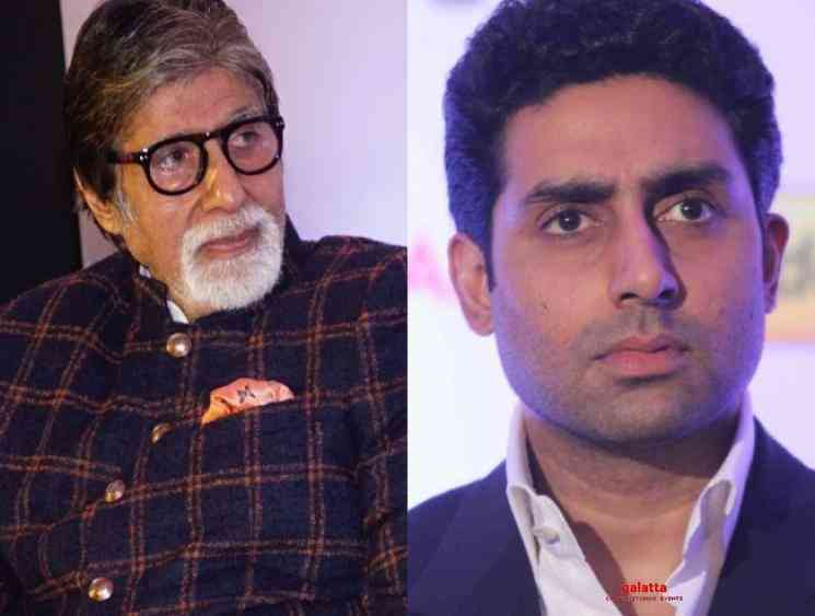 Amitabh Bachchan and Abhishek Bachchan test positive for Corona - Tamil Movie Cinema News