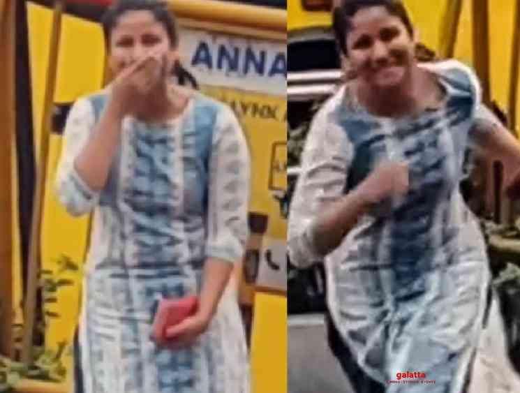 Sanjeev shares a throwback video of Alya Manasa proposing him - Tamil Movie Cinema News