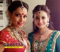 B-town beauties wish Dia and Sahil happiness