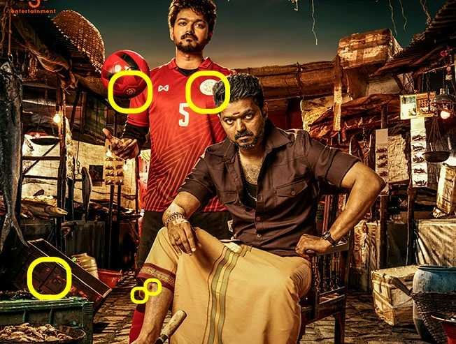 Thalapathy's Bigil first look poster decoded!