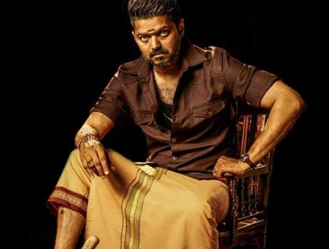 Bigil Thalapathy Vijay Movie Title First Look Released Full Cast Details Technical Team Details Complete List