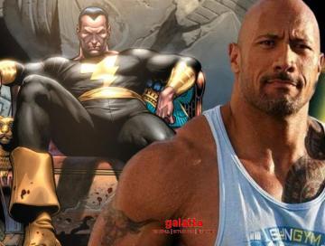 Black adam movie release date the rock DCEU Avatar 2 shazam - Tamil Movie Cinema News