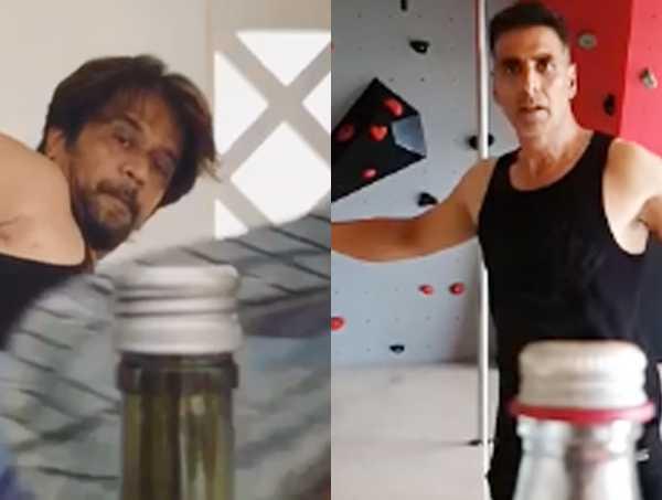 Bottle Cap Challenge Complication Celebrities Performing