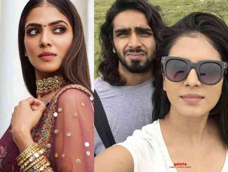 Master heroine Malavika Mohanan worried about her brother Aditya - Tamil Movie Cinema News