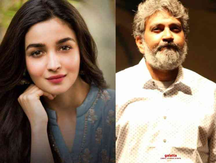 Rajamouli reveals the reason behind choosing Alia Bhatt for RRR - Tamil Movie Cinema News