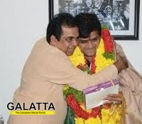Brahmanandam congratulates Ali for Doctorate!