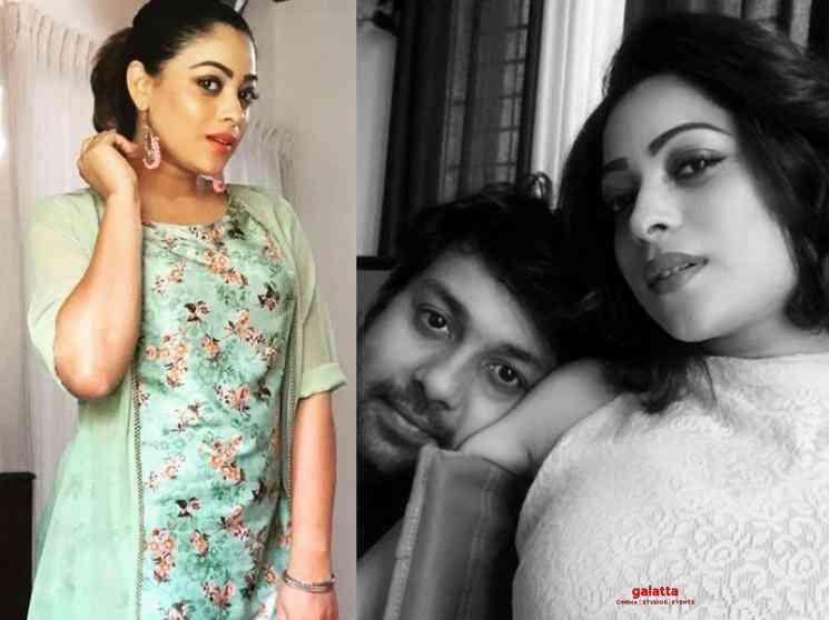 Actress Anjali Rao and editor Jomin blessed with a baby boy - Malayalam Movie Cinema News