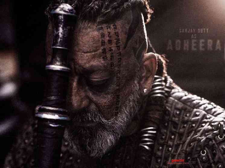 KGF Chapter 2 Adheera character look poster revealed Sanjay Dutt - Hindi Movie Cinema News