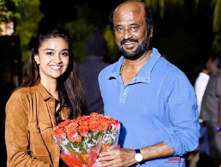 Keerthy Suresh about her role in Superstar Rajinikanth Annaatthe - Tamil Movie Cinema News
