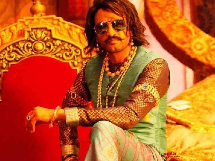 Santhanam look as King Rajasimha in Biskoth released Kannan - Tamil Movie Cinema News