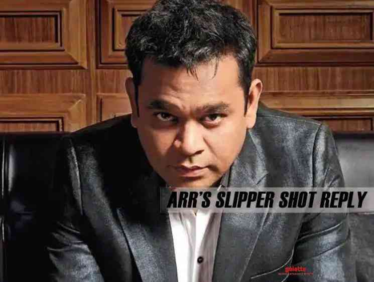 AR Rahman slipper shot reply for remaking Maskali song - Tamil Movie Cinema News