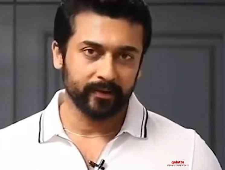 Actor Surya Corona Virus awareness video - Tamil Movie Cinema News