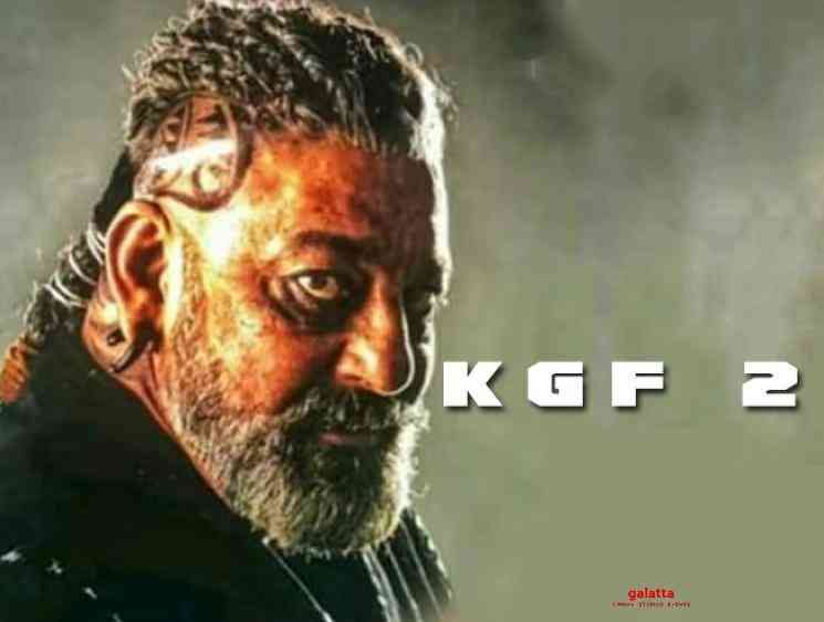 Sanjay Dutt KGF 2 look leaked online Adheera - Tamil Movie Cinema News
