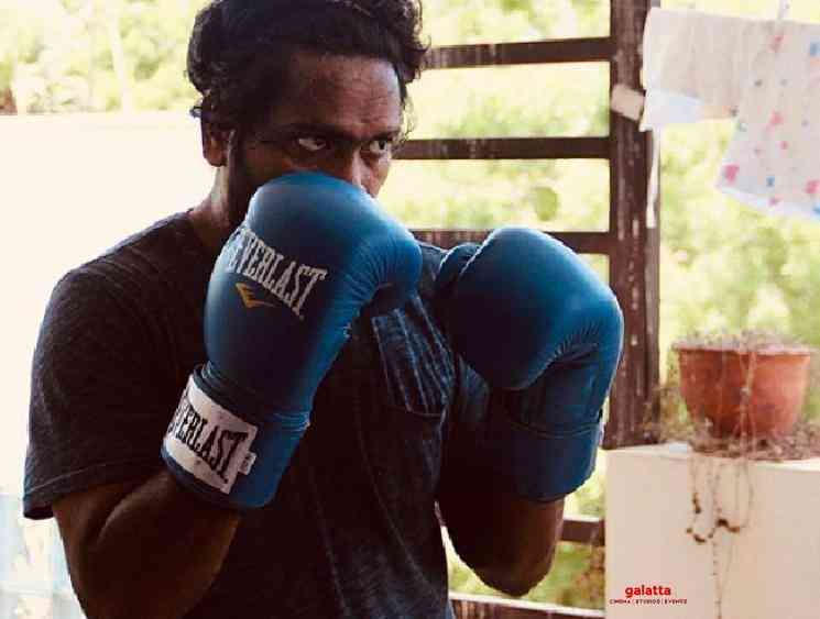 Director Pa Ranjith trains for boxing sport posts picture Arya 30 - Tamil Movie Cinema News