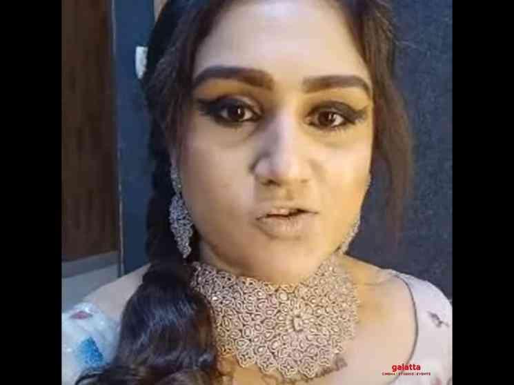 Vanitha Vijayakumar resumes shoot for KPY after the pandemic - Tamil Movie Cinema News