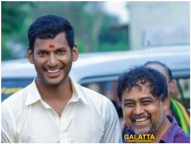 Sandakozhi 2 Vishal Heaps Praises On Keerthy Suresh Varalaxmi Sarathkumar