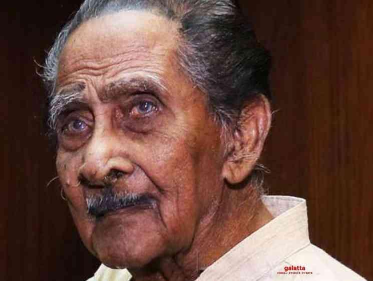 Actor Pappukutty Bhagavathar dies at 107 in Kerala - Tamil Movie Cinema News