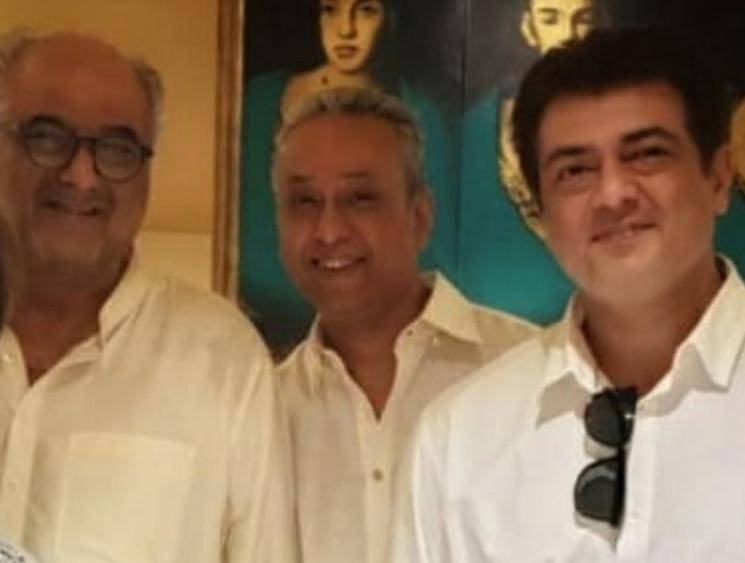 Thala Ajith Kumar in Producer Boney Kapoor residence - Tamil Movie Cinema News
