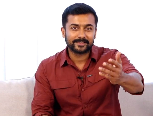 Suriya reveals his recent favourite movie