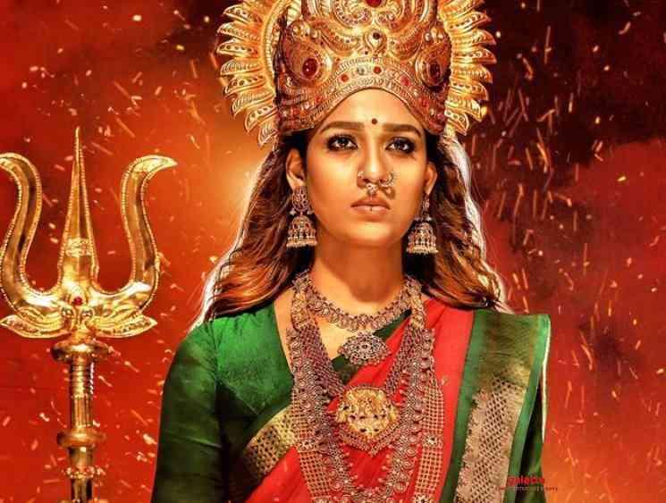 Nayanthara's Mookuthi Amman first look poster | RJ Balaji | Indhuja  - Tamil Cinema News