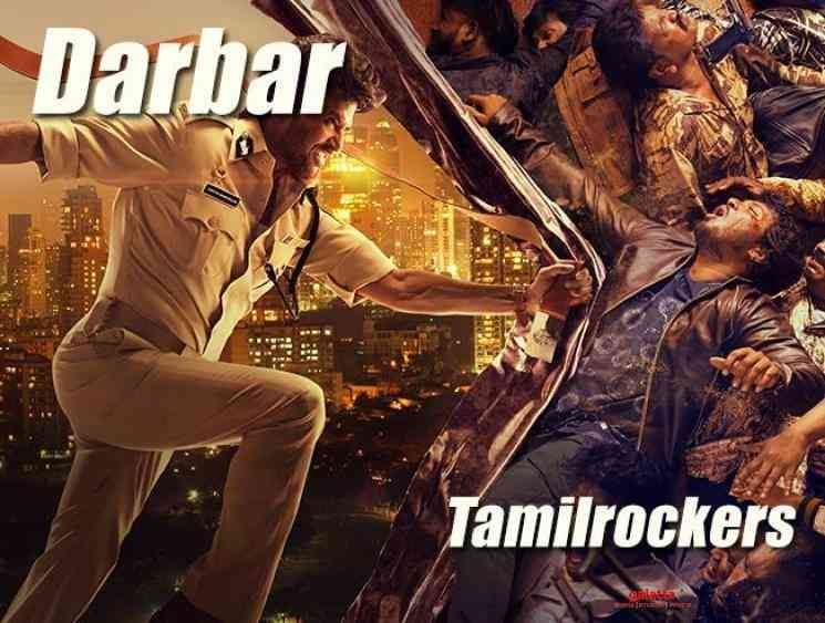 Darbar leaked on TamilRockers Superstar Rajinikanth Nayanthara - Tamil Movie Cinema News