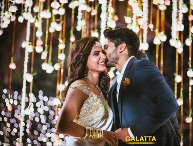 Samantha and Naga Chaitanya engaged