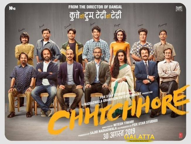 Chhichhore First Look Is Here From The Director Of Dangal