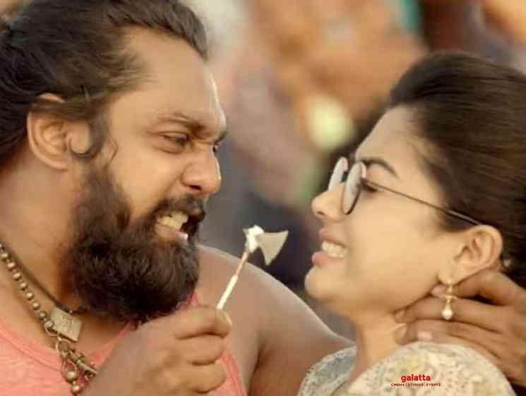 Pogaru Karabuu Video Song Dhruva Sarja Rashmika Mandanna - Tamil Movie Cinema News