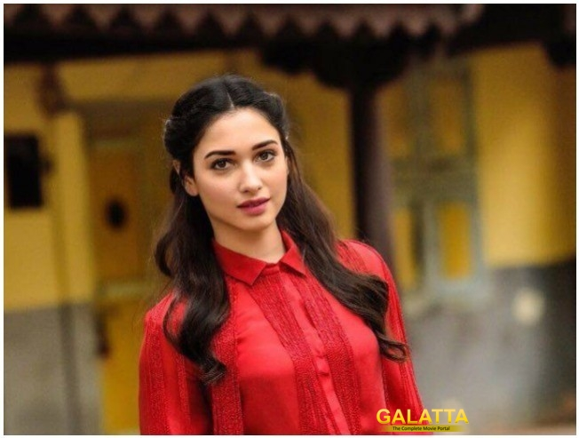 Popular Tamil And Telugu Actor Tamannaah Escapes Shoe Throwing Incident
