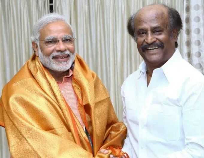 Rajinikanth To Attend swearing in Ceremony of Prime Minister Narendra Modi On May 30th