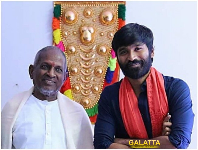 Dhanush Sings For Ilaiyaraaja In Marathi Film Isaignani