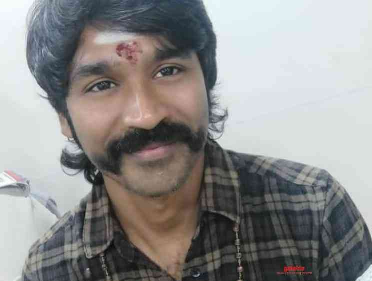 Dhanush wraps up shooting for Karthik Subbaraj's D40 - check out his statement! - Tamil Cinema News