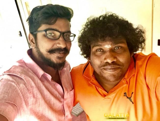 Sarkar Vijay Yogi Babu Completes Dubbing Movie Release On Diwali