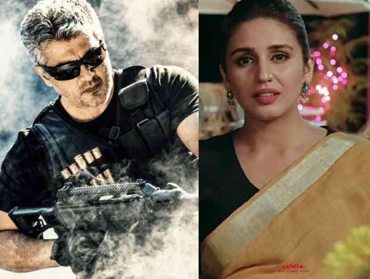 Kaala fame Huma Qureshi signed as female lead for Ajith's Valimai! Check Out!  - Tamil Cinema News