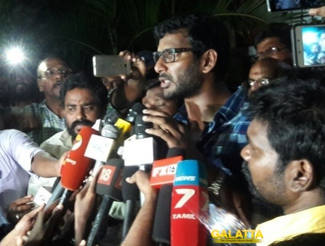 Vishal And TFPC To Meet Chief Minister Over Tamil Film Producers Strike With DSPs