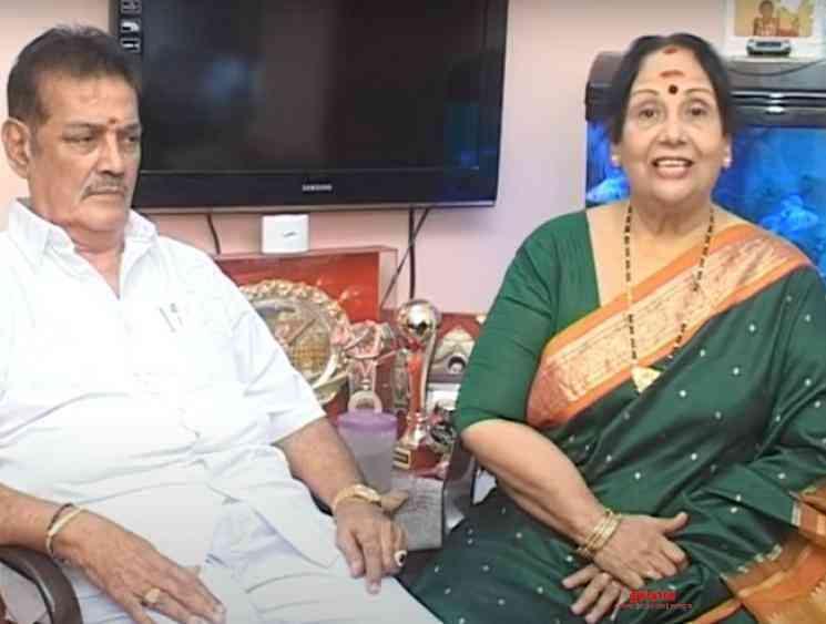 MN Rajam husband AL Raghavan dies of Cardiac arrest - Tamil Movie Cinema News