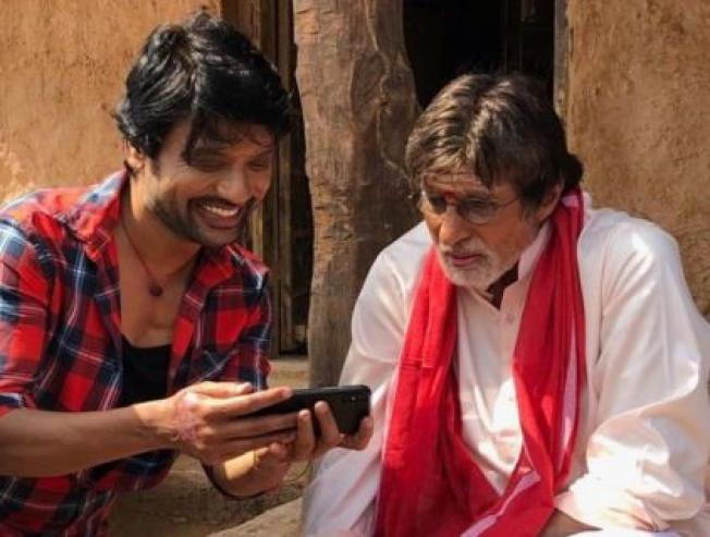 Amithabh Bachchan SJ Surya Movie Uyarndha Manidhan Shooting Spot Pictures  - Tamil Movie Cinema News