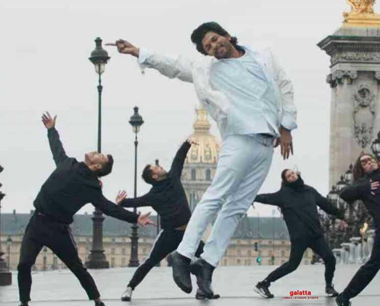 அல்லு அர்ஜுனின் பாடல் ப்ரோமோ இதோ !- Tamil Movies News