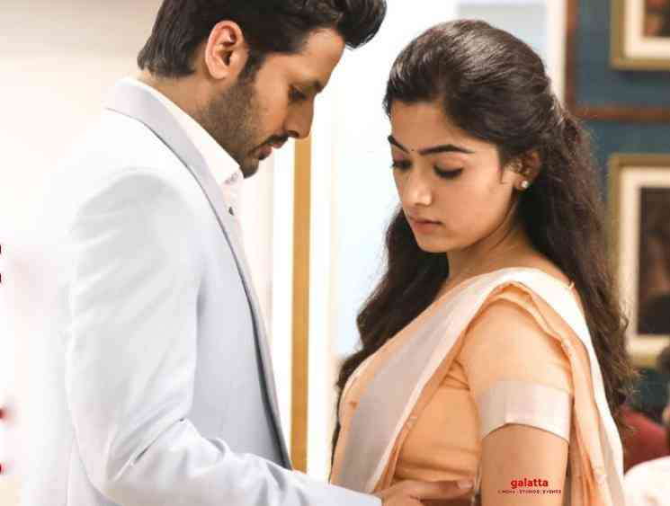 Bheeshma Singles Anthem Song Lyric Video Nithiin Rashmika - Tamil Movie Cinema News