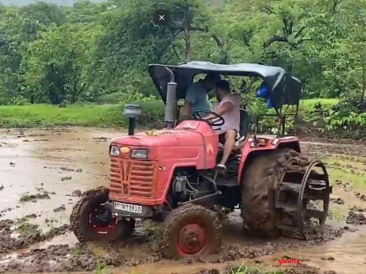 Salman Khan farming video from Panvel farmhouse - Tamil Movie Cinema News