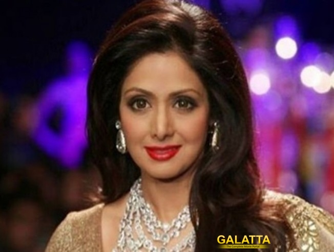 Sridevi Family Makes An Official Statement On Actor Demise