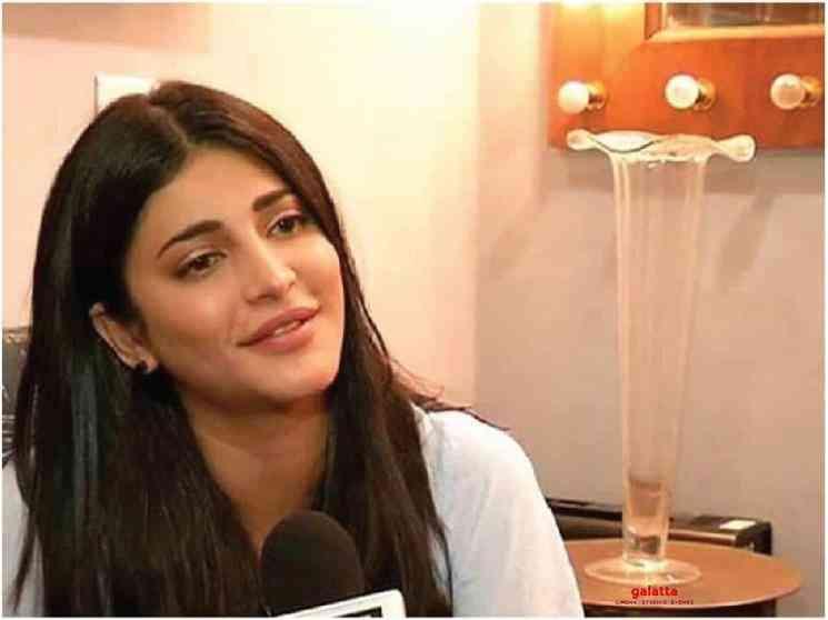 Shruti Haasan confirms acting in Vakeel Saab Pawan Kalyan - Tamil Movie Cinema News