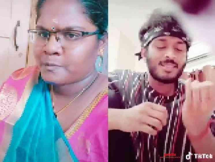 Bigil fame Indraja Shankar viral TikTok video with Asuran Teejay - Tamil Movie Cinema News