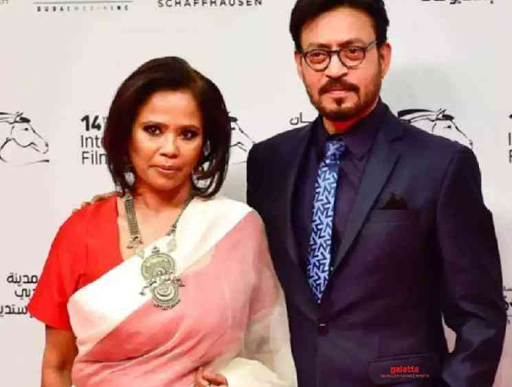 Irrfan Khan wife Sutapa Sikdar official statement on his death - Tamil Movie Cinema News